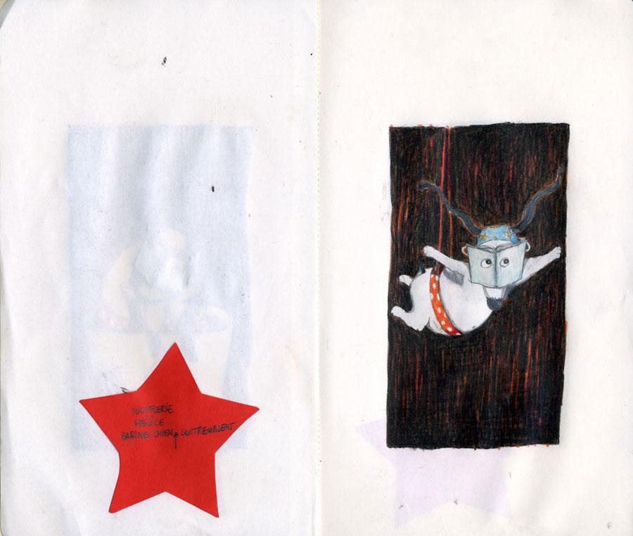 Affiche Chien  Isabelle Chatellard