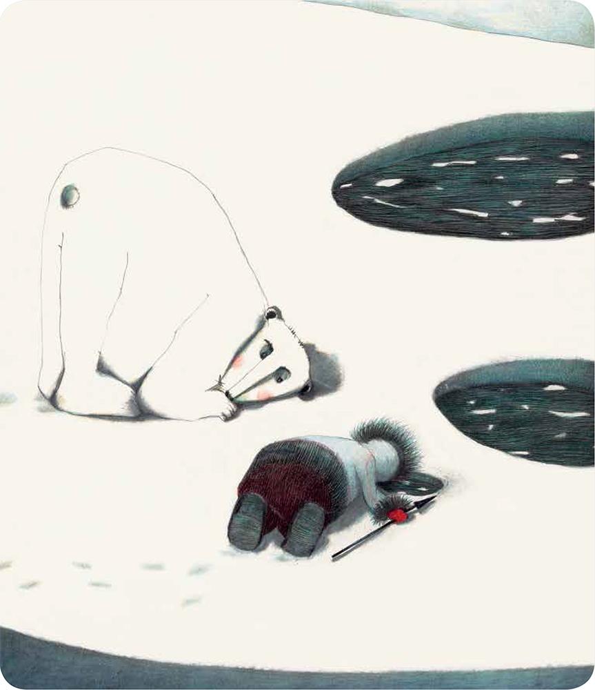 Kiviuq et l'Ours blanc
