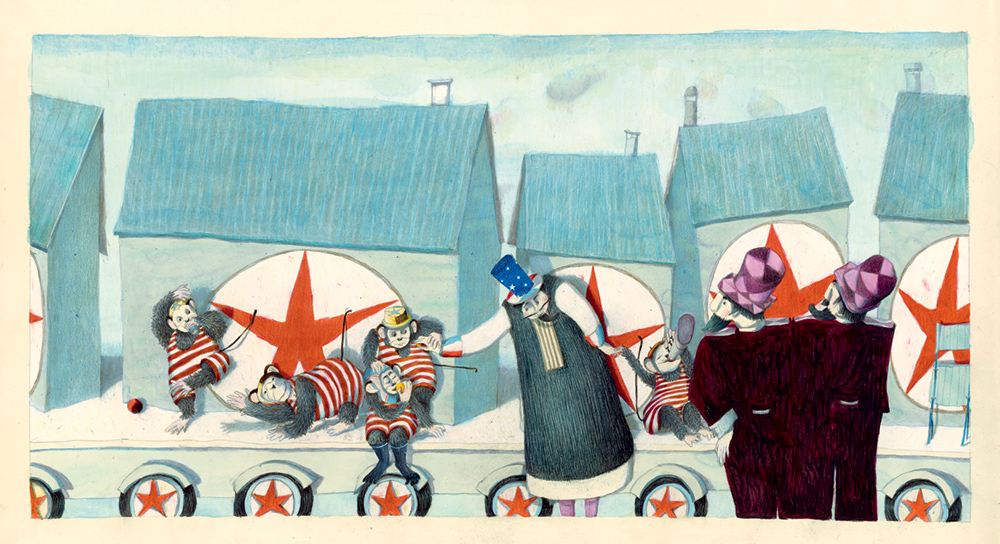 Bazar Circus Isabelle Chatellard