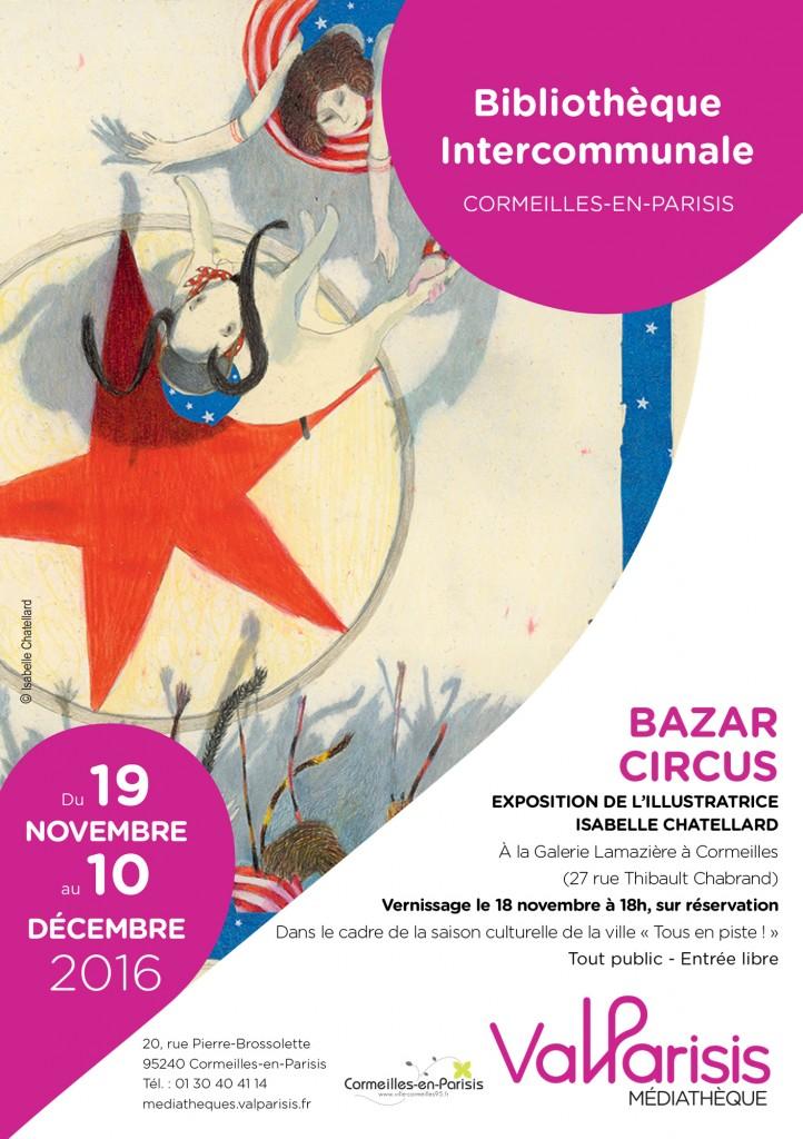 exposition_bazar_circus_cormeilles_novembre_2016